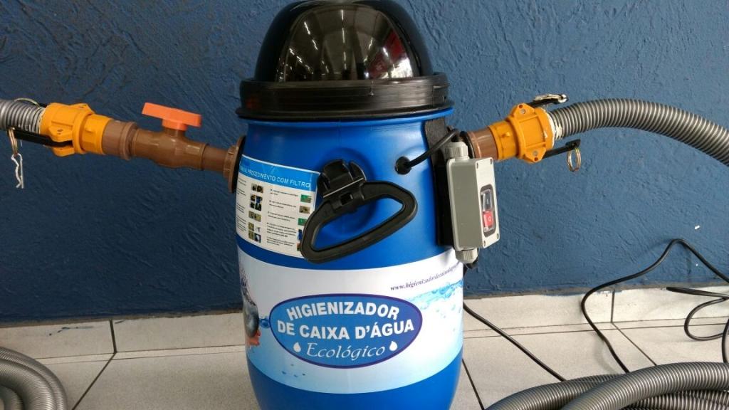 Equipamento de Limpeza de Caixa D'água Ecológica