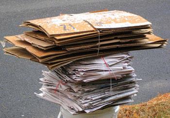 Como reciclar papelão?