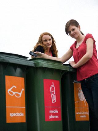A importância das lixeiras para coleta seletiva do lixo