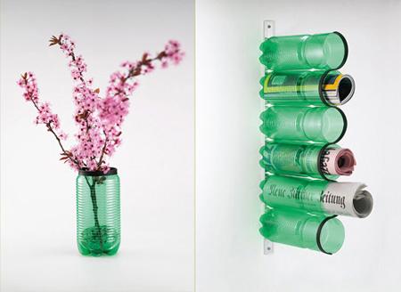 Como reciclar garrafas pet?
