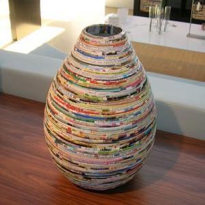 como reciclar revistas