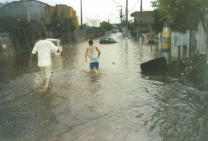 Perigos da enchente - leptospirose