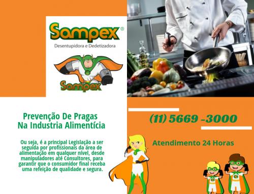 Prevenção De Pragas Na Industria Alimentícia