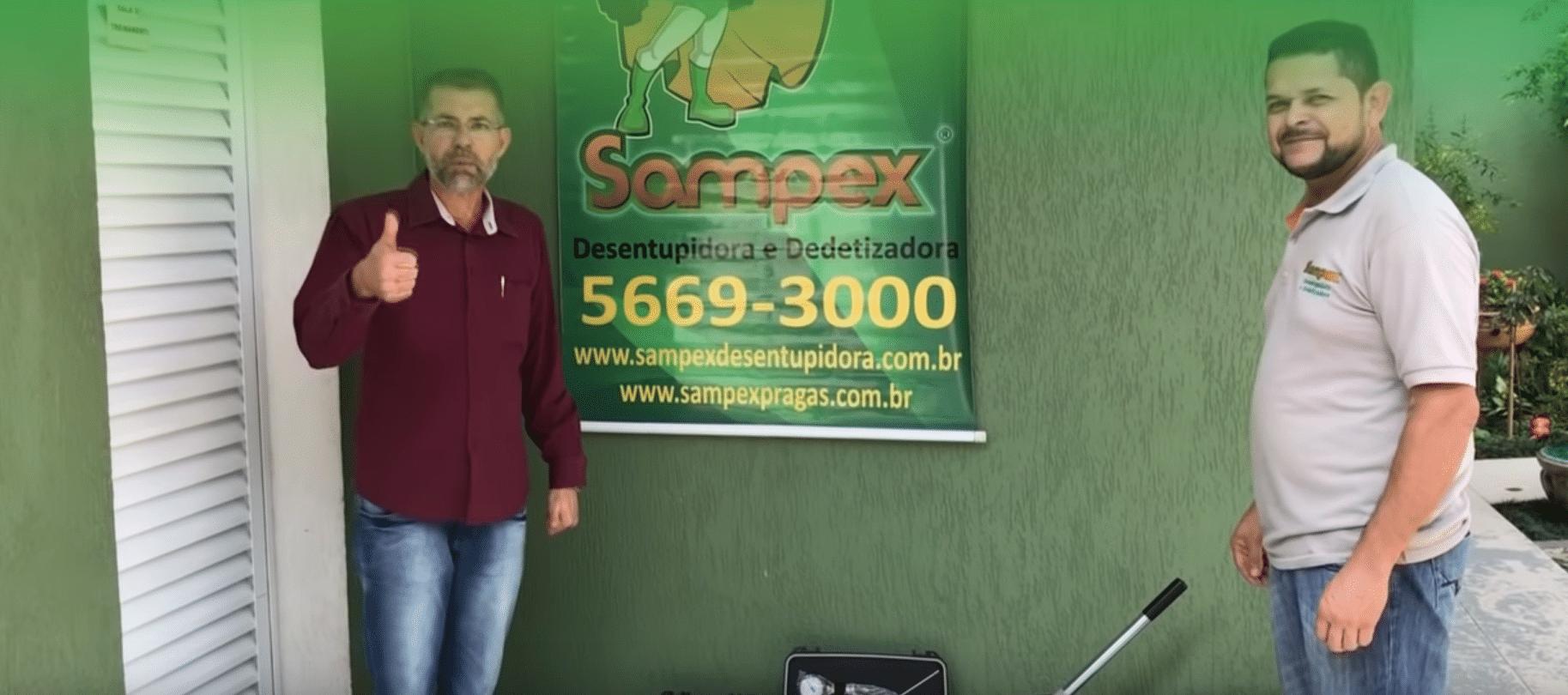 sampex video - Caça Vazamento